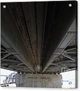 The Three Benicia-martinez Bridges In California - 5d18842 Acrylic Print