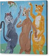 The Three Graces - Nobody Said To Wear A Hat Acrylic Print