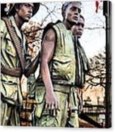 The Three Acrylic Print by JC Findley