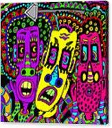 The Three Of Us Acrylic Print
