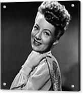 The Thrill Of Brazil, Evelyn Keyes, 1946 Acrylic Print by Everett