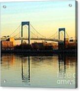 The Throggs Neck Bridge Acrylic Print
