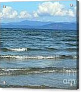The Tide Was High Acrylic Print