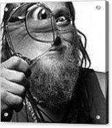 The Token Hippie Acrylic Print