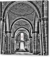 The Tombs At Fontevraud Abbey   France Acrylic Print