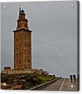 The Tower Of Hercules Acrylic Print