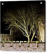 The Tower Of London At Night  Acrylic Print
