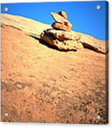 The Trail Marker Acrylic Print