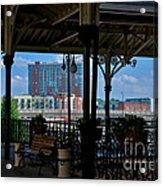 The Trainstation In Nashville Acrylic Print