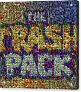 The Trash Pack Eyeball Mosaic Acrylic Print