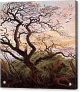 The Tree Of Crows Acrylic Print