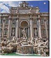The Trevi Fountain Acrylic Print