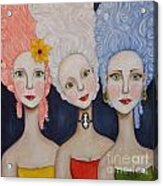 The Triplets Acrylic Print