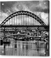 The Tyne Bridges Acrylic Print