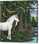 The Unicorn Myth Acrylic Print