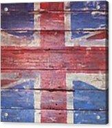 The Union Jack Acrylic Print by Anna Villarreal Garbis