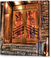 The Union Woodshop Clarkston Mi Acrylic Print