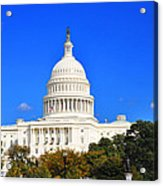 The United States Capitol Acrylic Print