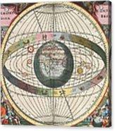 The Universe Of Brahe Harmonia Acrylic Print