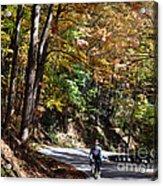 The Uphill Climb Acrylic Print