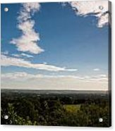 The Vale Of Kent Acrylic Print