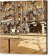 The Vaudeville Theatre In Shamokin Pa Around 1910 Acrylic Print