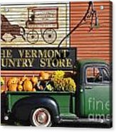 The Vermont Country Store Acrylic Print