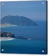 The View Of California Coast Acrylic Print