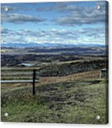 The View Point Acrylic Print