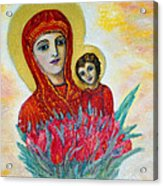The Virgin And The Child Acrylic Print