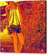 The Walk Acrylic Print