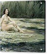 The Water Nixie Acrylic Print