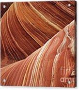 The Wave Sandstone Magic Acrylic Print