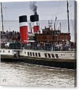 The Waverley Paddle Steamer Acrylic Print