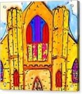 The Wedding Chapel Acrylic Print