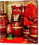 the Wedding Gifts Shop at the Qibao Ancient Town Acrylic Print
