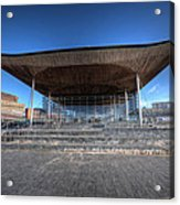 The Welsh Assembly Building 2 Acrylic Print