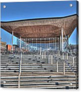 The Welsh Assembly Building Acrylic Print