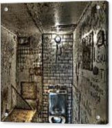 The West Virginia State Penitentiary Cell Acrylic Print