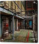 The West Virginia State Penitentiary Cells Acrylic Print
