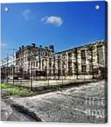 The West Virginia State Penitentiary Courtyard Outside Acrylic Print