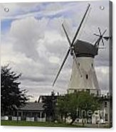 The White Windmill Acrylic Print