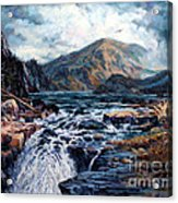 The Wilds Of Lake Superior Acrylic Print by W  Scott Fenton