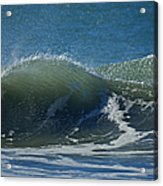 The Windblown Wave Acrylic Print