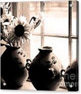 The Window Vases Acrylic Print