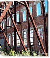 The Window Wall Acrylic Print by MJ Olsen