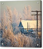 The Winter Country Acrylic Print