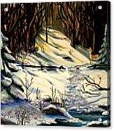 The Winter Trail Acrylic Print