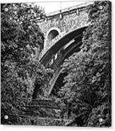 The Wissahickon Creek And Henry Avenue Bridge Acrylic Print