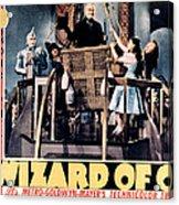 The Wizard Of Oz, Jack Haley, Ray Acrylic Print